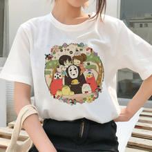 Женская футболка miyazaki hayao ullzang женская с японским милым