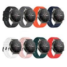 Oficial pulseira de silicone para huawei relógio gt 2 pro esporte pulseira de borracha original para huawei gt2 pro substituir pulseira