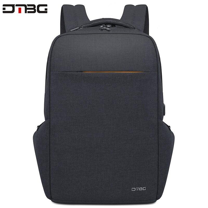 DTBG étanche multifonction USB charge hommes 17.3 pouces sacs à dos d'ordinateur portable pour adolescent mode mâle voyage Anti-vol sac à dos