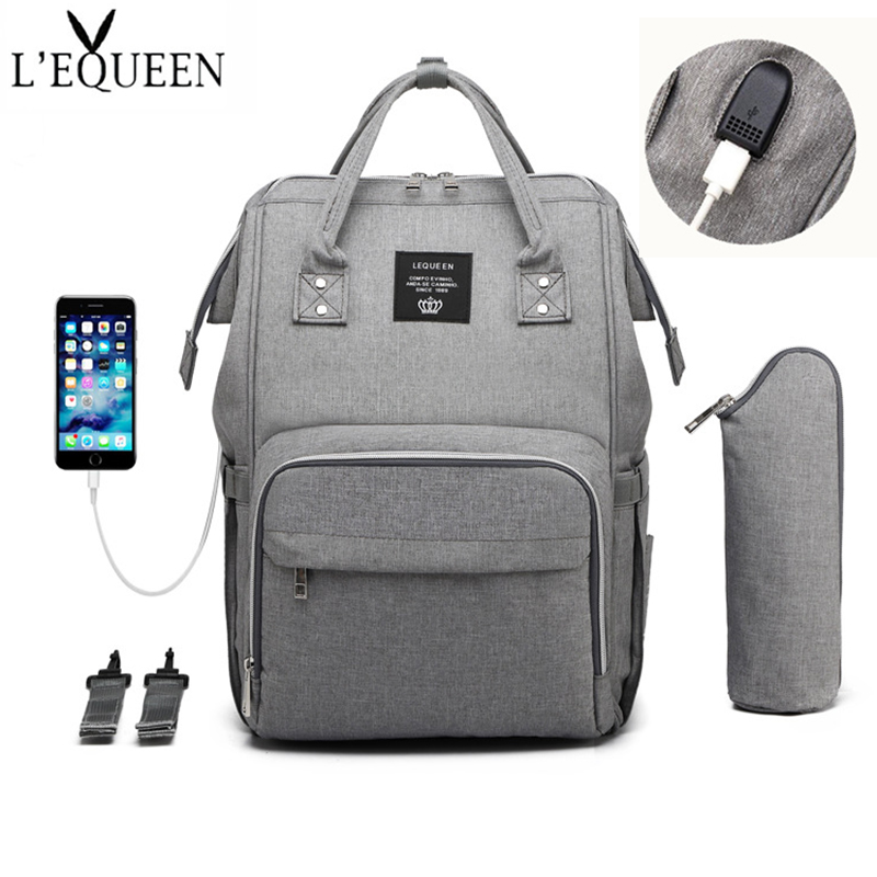 Fashion Mummy Backpack, Nappy, Mommy Bag, Multifunctional Outdoor Travel Bag, Baby Diapers, Baby Care Bags