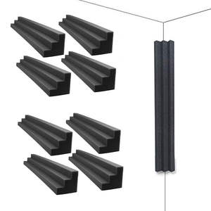 Foam-Corner Blocks Acoustic Studio Home-Theate Panels Wedges Sound-Absorption 12pack-Column