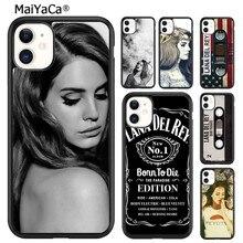 MaiYaCa incredibile Cover per telefono Lana Del Rey per 5s SE 6s 7 8 plus X XR XS 11 12 pro max Samsung Galaxy S8 S9 S10 shell