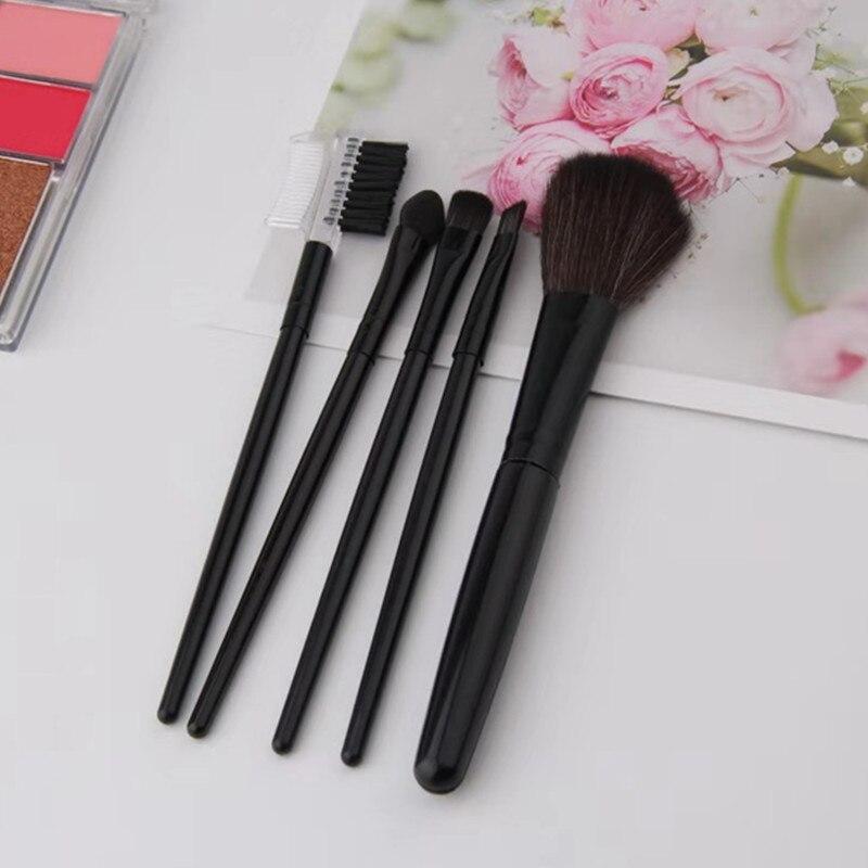 2019 Fashion 5pcs Women Makeup Brushes Set Professional Powder Eyelashes Eye Shadow Brush brochas maquillaje viaje Hot Sale 30 in Eye Shadow Applicator from Beauty Health
