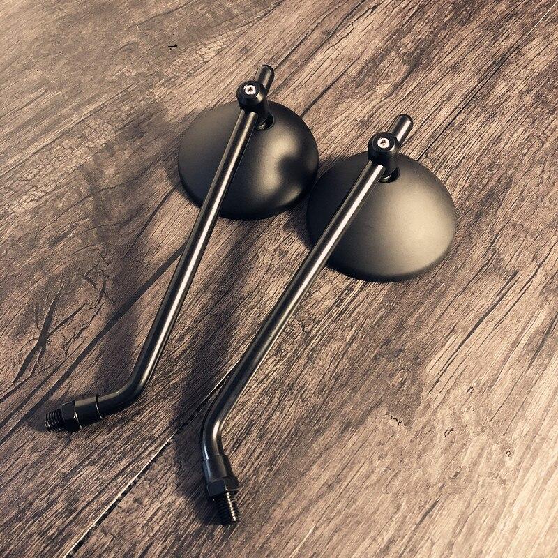 Image 5 - الأسود مقهى المتسابق الرجعية دراجة نارية تعديل القهوة تسلق عالية الجودة مرآة الرؤية الخلفية صغيرة مرآة مستديرة CB400 CB1300إكسسوارات ومرايا جانبية   -