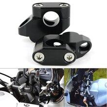 For Yamaha FZ1 FZ6 FZ16 FZ8 Fazer MT-15 MT-25 MT-03 XJR 400 22mm 7/8 Handle Bar Riser Back Moved Up Handlebar Mounting Risers