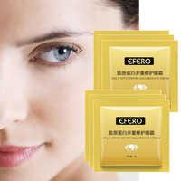 EFERO 10Packs Collagen Augen Creme Augen Creme Essenz Anti Falten Entfernen Augenringe Reparatur Auge Pflege Gesicht Pflege