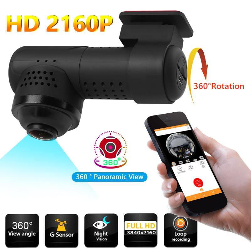360° Recorder Camera 4K HD 1080P Ultra Wifi VR DVR Video Sports Action Dash Cam