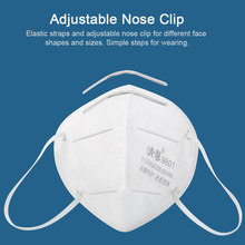 10PCS/BOX Disposable N95 Mask Soft Breathable Protective Mask Safety Masks 95% Filtration for Dust Particulate Pollution Safe