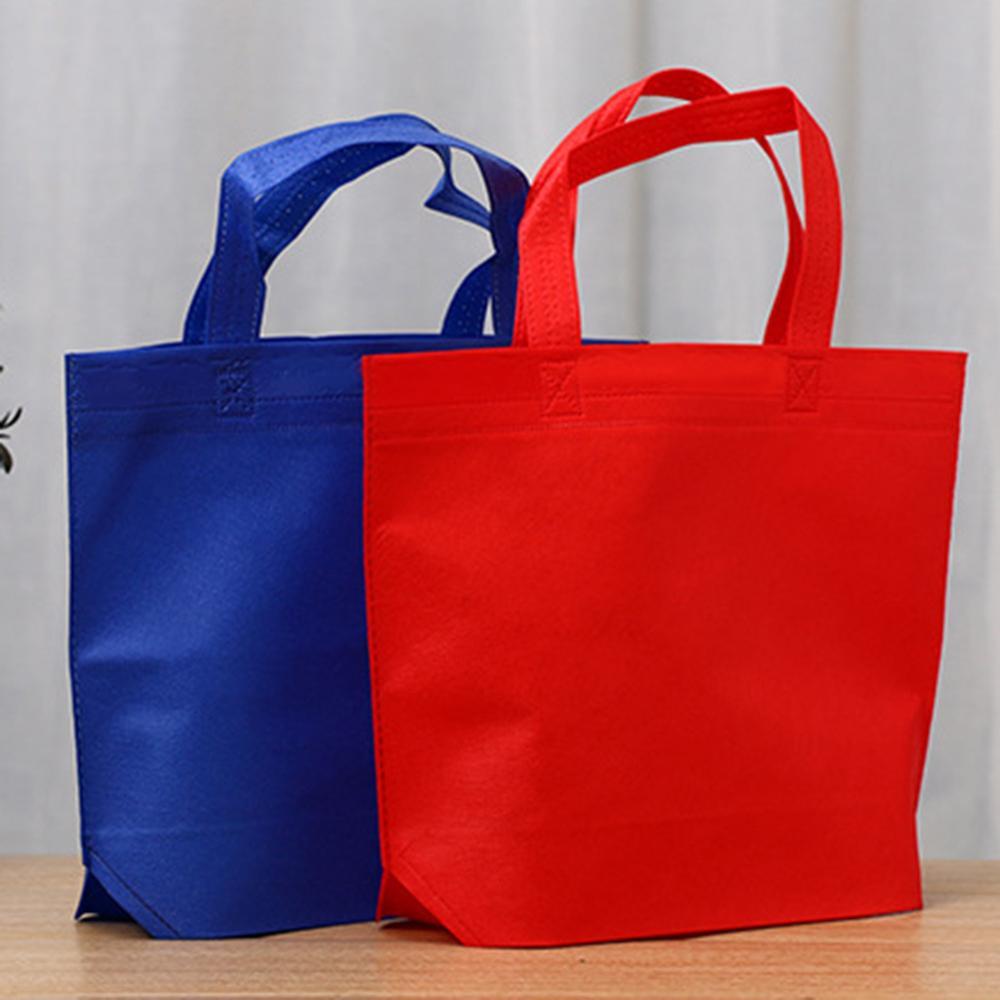 Reusable Shopping Bag Women Cotton Fabric Environmental Organizer Bags Casual No Zipper Grocery Bag High Quality Tote Bag