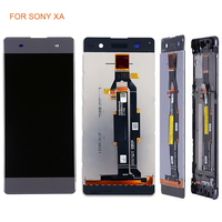 LCD Display Touch Digitizer with Frame For Sony Xperia XA F3111 F3113 F3115 LCD Screen Pantalla Replacement