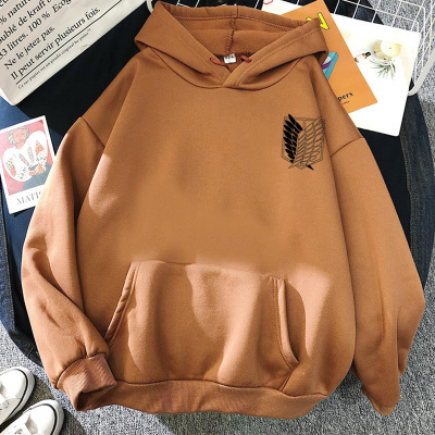 Attack on Titan Hoodies Unisex Male Female Print Shingeki No Kyojin Anime Clothes Loose Casual Streetwears Link Aesthetic Korean 26