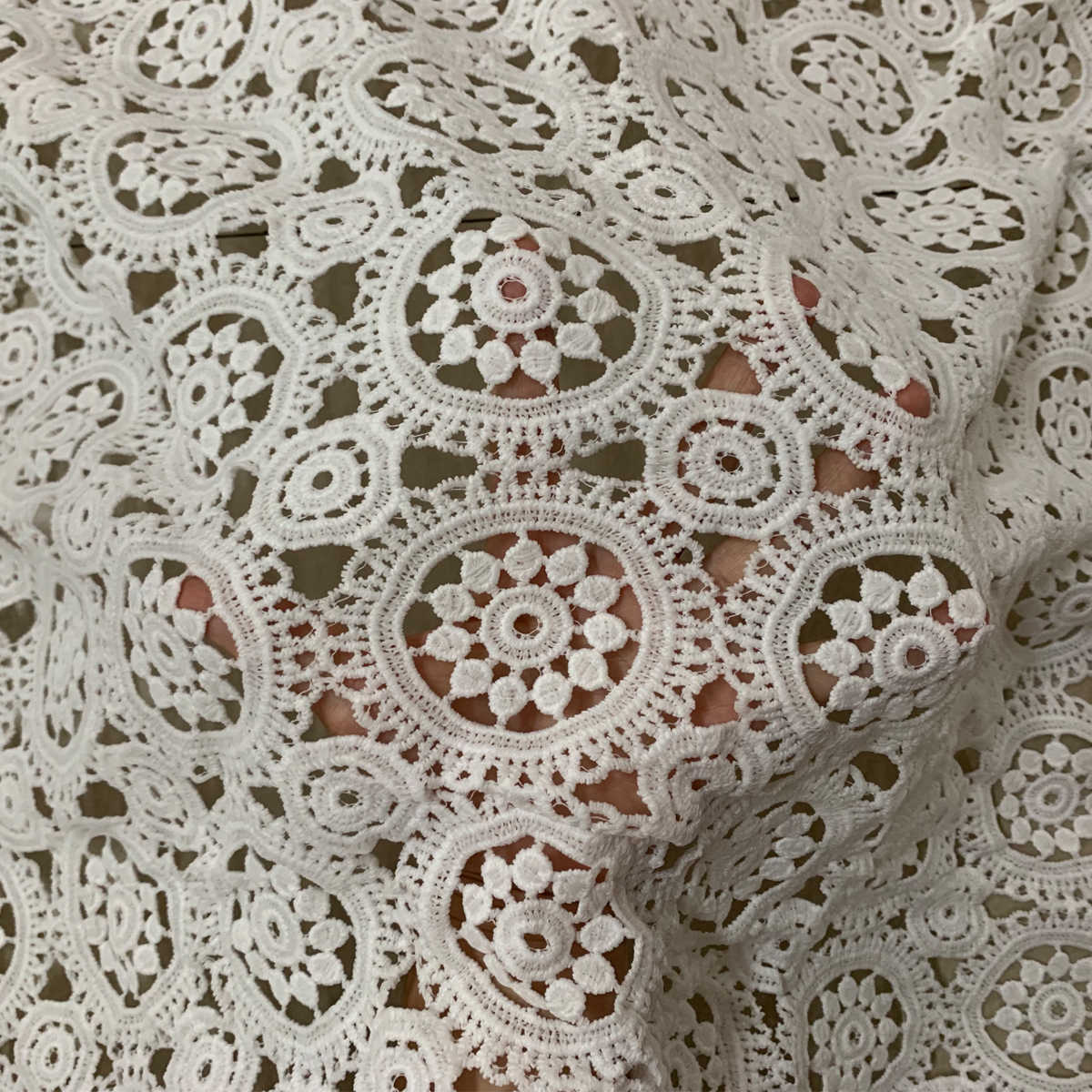 1yard son afrika fransız dantel dikiş kumaşı düğün elbisesi beyaz kord dantel kumaş 2019 yüksek kalite nijeryalı dantel kumaşlar