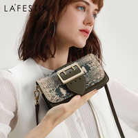LAFESTIN French small high-end female bag 2019 new fashion shoulder bag Crossbody bags for women organ small square bag