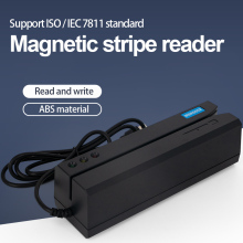 MSR605X Magnetic Stripe Card Reader 3 Tracks Writer Encoder  USB interface driverless plug and play