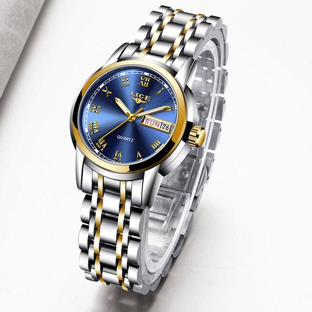 שעון קלאסי לנשים חסין מים 6