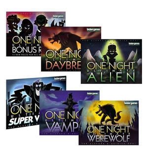 Party-Game Werewolf Roles One-Night-Ultimate Vampire Family Super-Villains Players Alien
