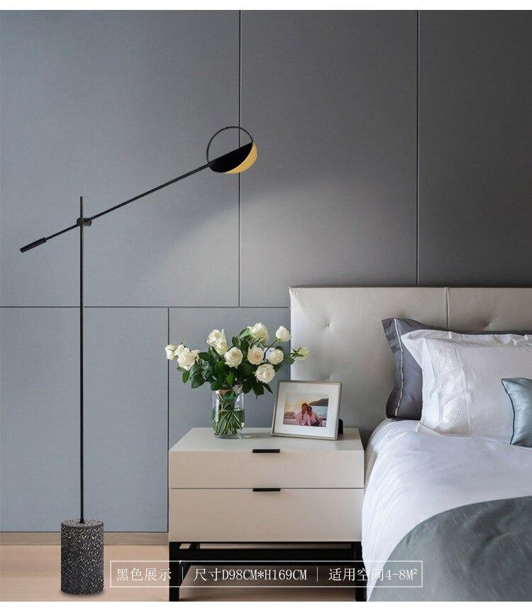 decoração lâmpada chão quarto lâmpada da sala jantar
