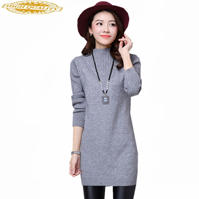 Women's Turtleneck Autumn Winter Sweater Knitted 2020 Fashion Slim White Long Sleeve Women Sweaters And Pullovers WXF547