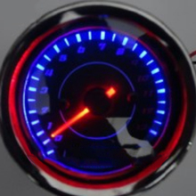 цена на 12V Motorcycle Electronic Tachometer Speedometer 13,000 with LED Inductance Tachometer Motorcycle Modified Electronic Instrument