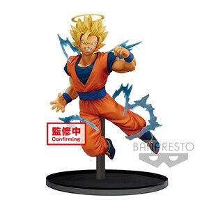 Image 2 - Tronzo המקורי Banpresto דרקון כדור סופר Dokkan קרב גוקו Majin Vegeta SSJ PVC פעולה איור אסיפה דגם בובת צעצועים