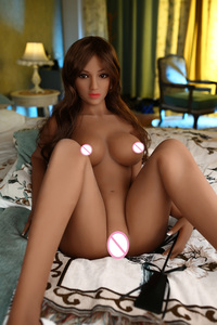 Image 5 - 158cm Sex Dolls Real Adult Life Big Breast Vagina Sex Toys for Men Tpe Sexy Dolls Full Size Silicone with skeleton Love Doll