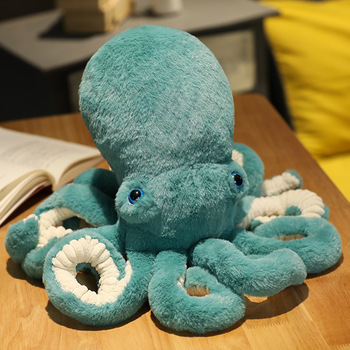 peluches grandes cute simulation octopus animal crossing plush toy filled stuffed animals pendant cartoon home decoration