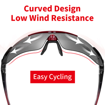 ROCKBROS Cycling Polarized glasses Bike Photochromic Outdoor Sports Sunglasses MTB PC Goggles Eyewear 5/3 Lens Bicycle Accessory 1