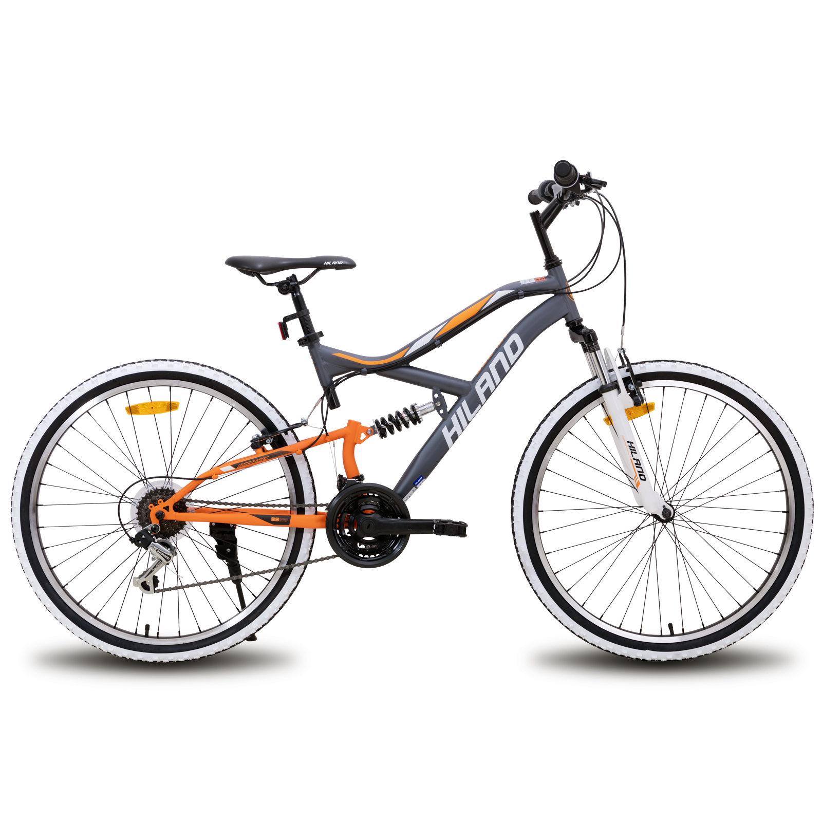 Велосипед Горный с передним и задним тормозом, колеса 26 дюймов, 18 скоростей