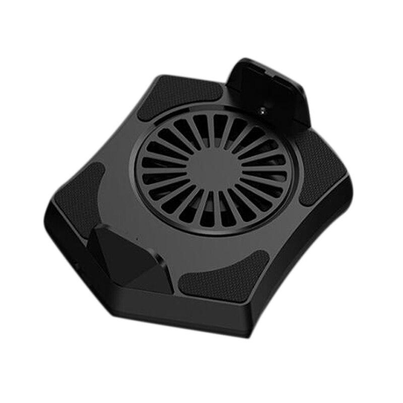 Cep telefonları ve Telekomünikasyon Ürünleri'ten Cep Telefonu Aksesuar Demetleri'de ABKT Mini soğutucu telefonu soğutma fanı oyun telefonu radyatör taşınabilir damla sıcaklık title=