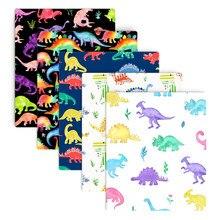 Os dinossauros de retalhos imprimiram a tela 100% do algodão para tissueshowing estofando telas material do bordado pano de diy, c13590