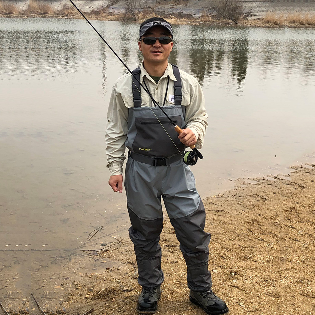 Fishing Chest Waders Light-Weight Waterproof Fishing Wader Overalls Boots Fishing Wading Pants For Raft Use Outdoor Fly Fishing