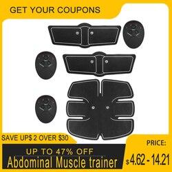 Músculo abdominal trainer ems estimulação ajuste de energia placa vibração magro corpo massageador perda braço perna muscular estimulador tonificação engrenagem