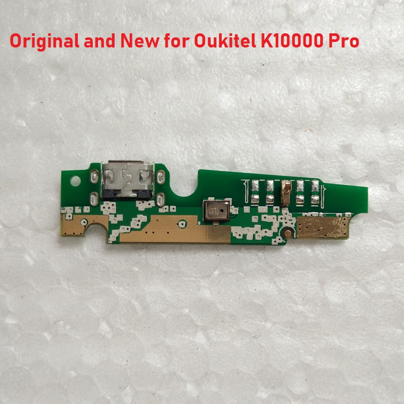 100% Original USB Charging Board For Oukitel K10000 Pro Charger USB Jack Plug Port Board  Replacement Repair Parts