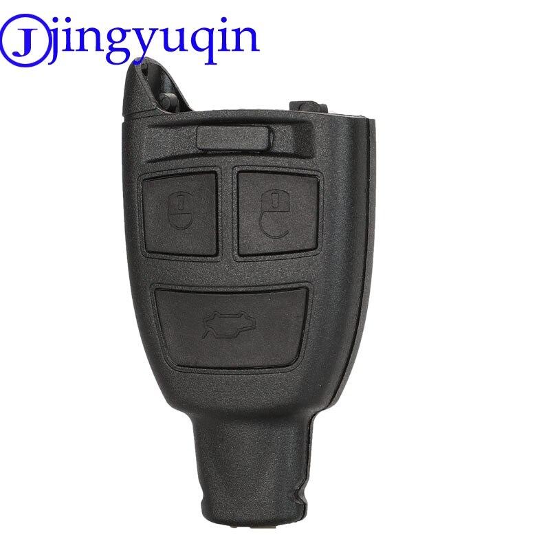 Jingyuqin 3 Tasten Fernbedienung Auto Schlüssel Shell Fob Für Fiat 500 Punto Croma Abdeckung Fall Keine Klinge Zubehör