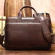 Для мужчин кожаная сумка Для Мужчин's Портфели Офисные Сумки для Для мужчин сумка мужская обувь из натуральной кожи мужская сумка для ноутбука сумка, портфель сумки из натуральной кожи