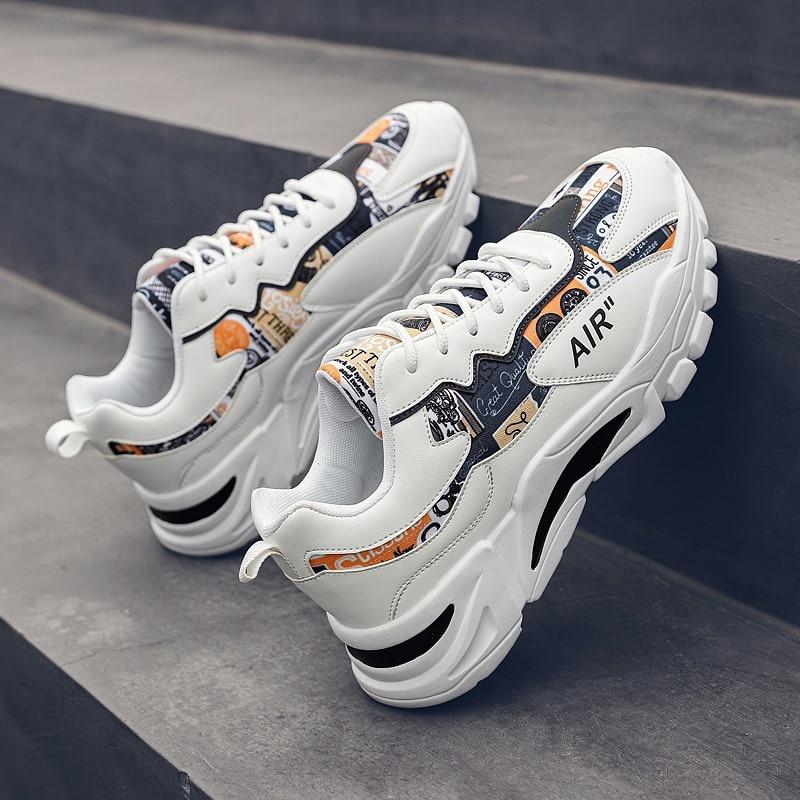 Chaussures pour hommes mode classique hommes chaussures décontractées haute qualité haut baskets sport chaussures décontractées respirantes Zapatillas Hombre