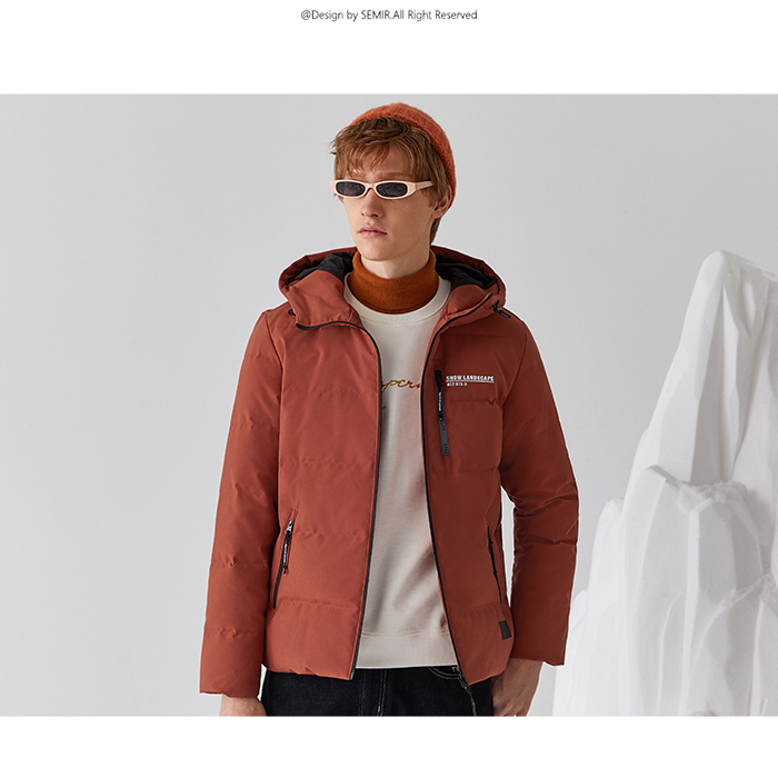 H1b3f2110878d4ca7a7b3c43c0dcc3150L Printed hooded warm jacket