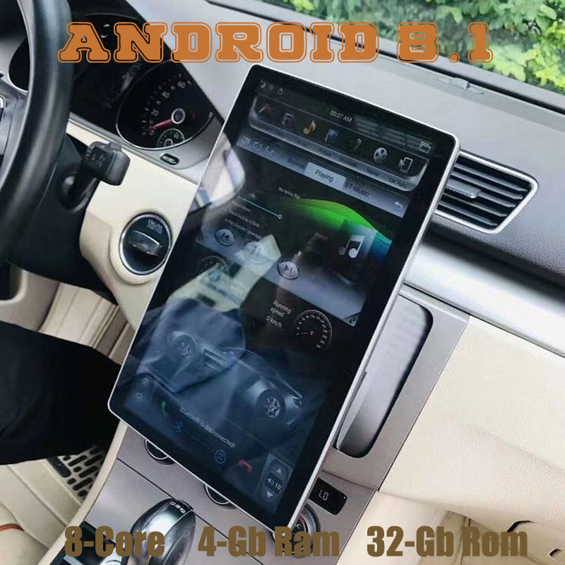 Universal Gps Radio-Player Tesla-Style Ips-Screen Android 8.1 Px6-12.8 Double-Din Bluetooth