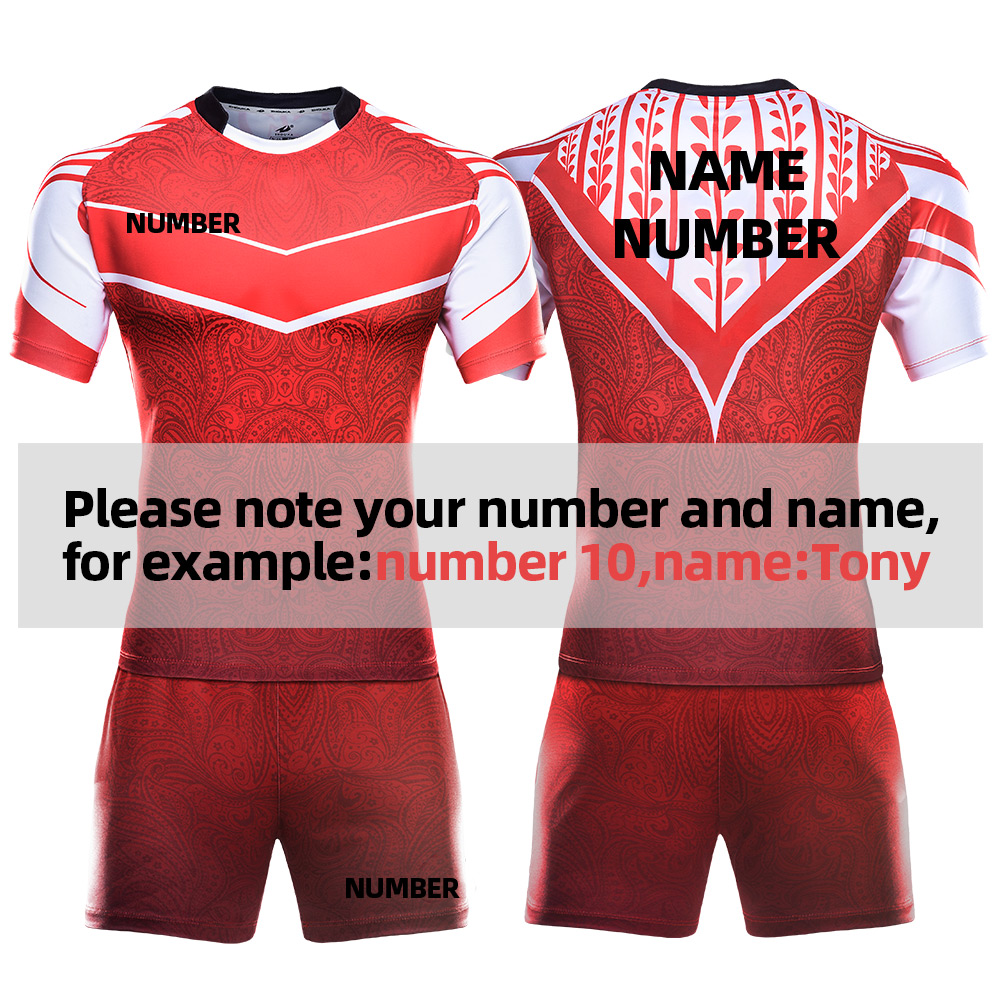 Professionalized Whole Custom Rugby