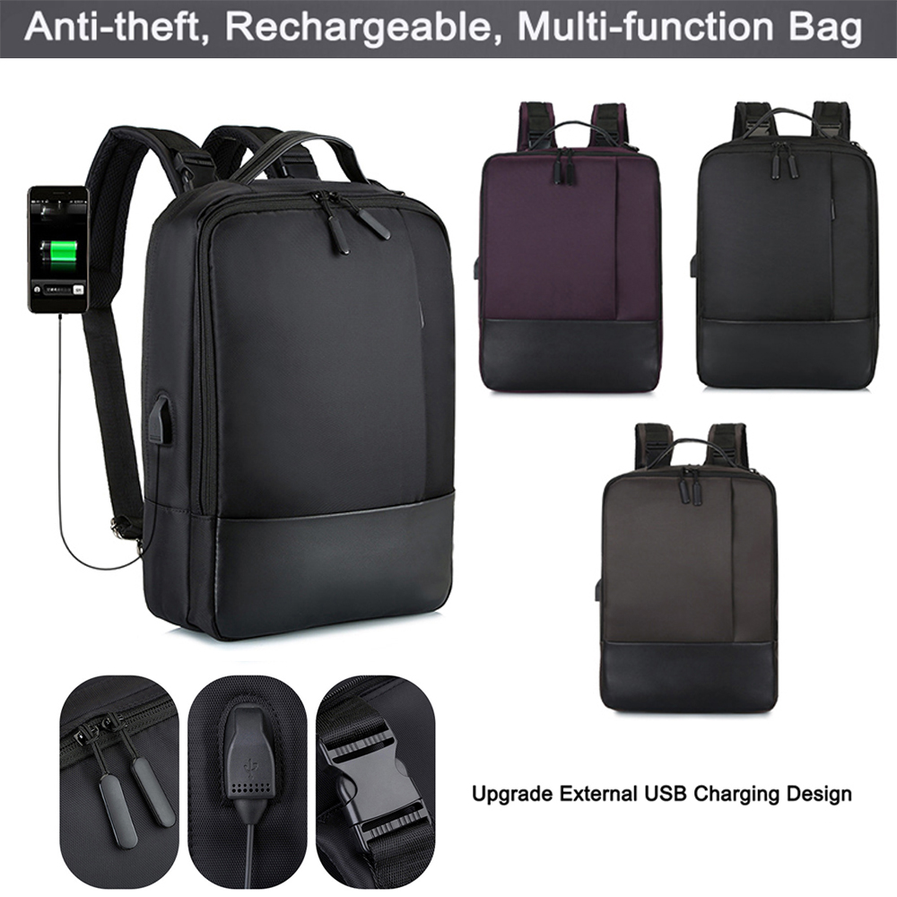 Bag For Macbook Air Pro Anti-theft Backpack Laptop Backpack Retina 15.6 Inch With USB Port For Xiaomi Air HP Mochila Masculina