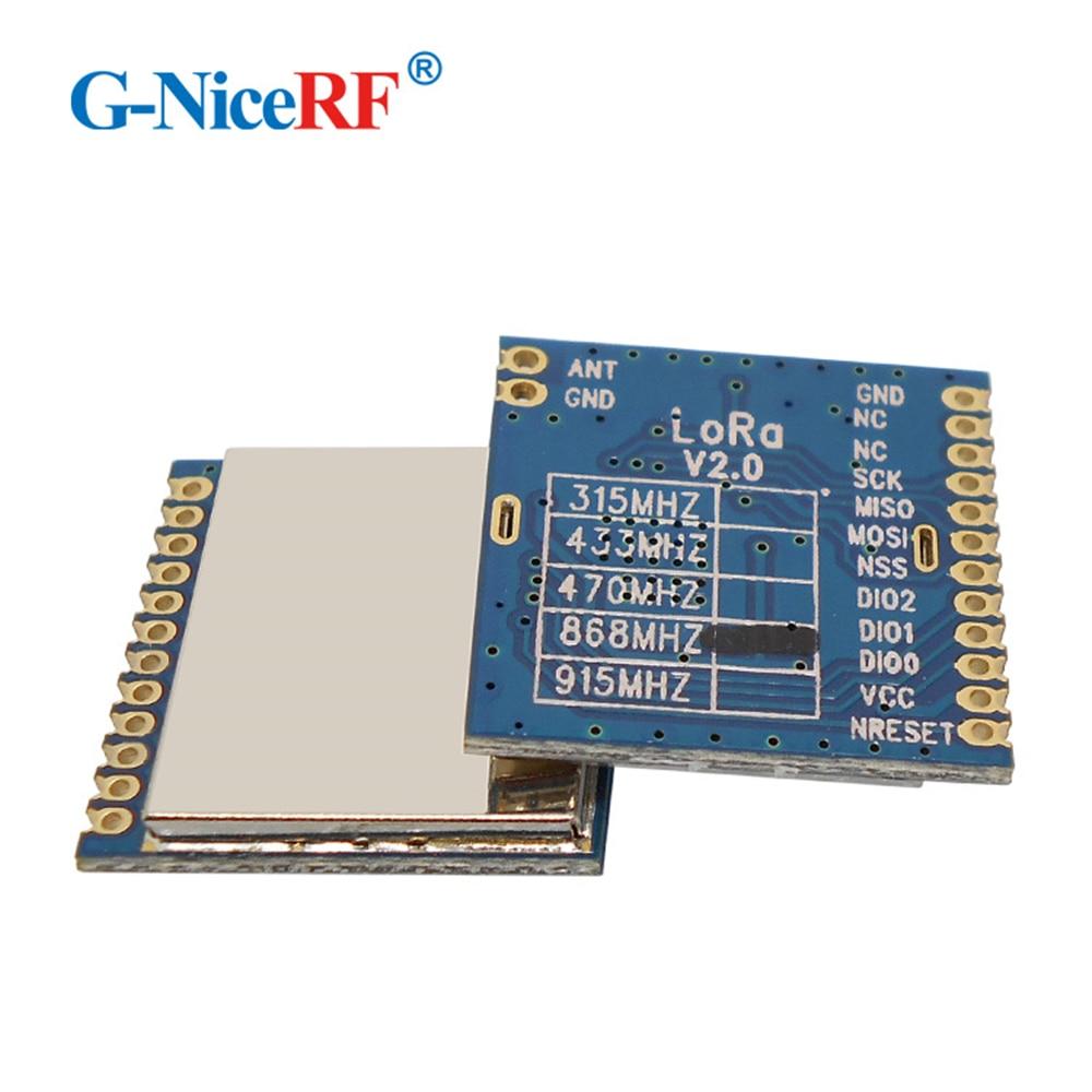 2pcs/lot LoRa1276 868MHz SX1276 Chip 4km~6km Long Distance Wireless Transceiver Module