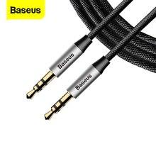 Baseus AUX 케이블 잭 3.5mm 오디오 케이블 3.5mm 잭 오디오 케이블 어댑터 자동차 헤드폰 스피커 컴퓨터 노트북 와이어 Aux 코드