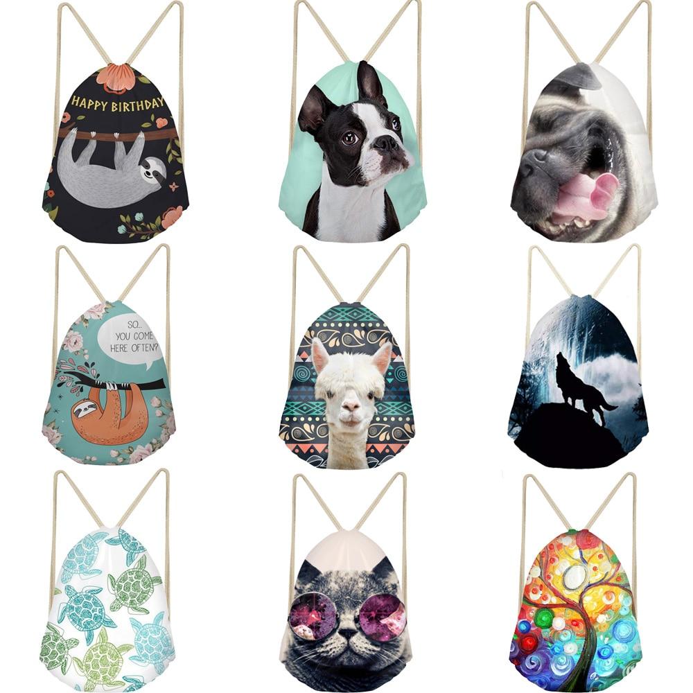 Drawstring Bag Backpack Casual Sack Drawstring Bags For Girl Boys Travel Backpack Toddler Softback Lady Beach Draw String Bag
