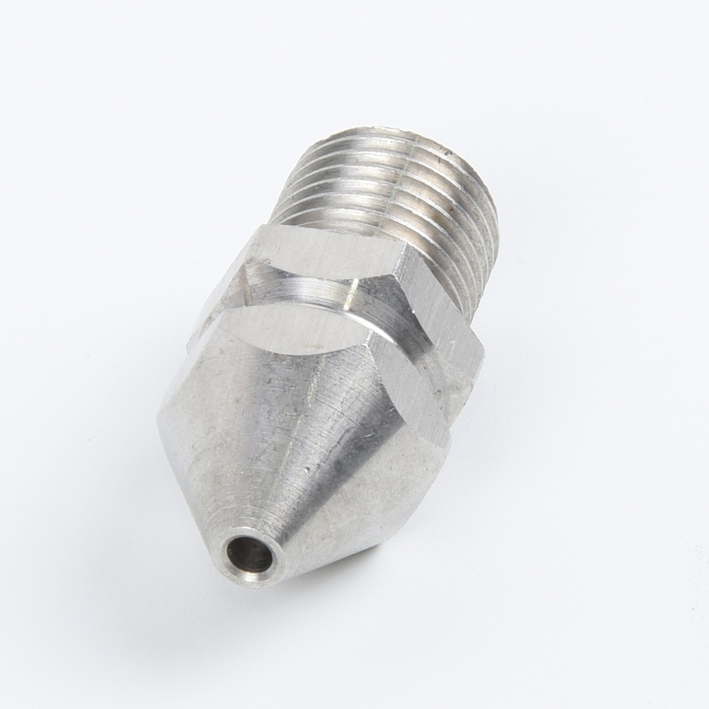 H1b3fc59f892e41f0b19d7048033f665dM 1/4'' 3/8 '' Cleaning Nozzle Pressure Washer Drain Sewer Cleaning Pipe Jetter Spray Nozzle 4 Jet Garden Accessories Tools