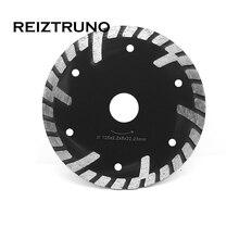 REIZTRUNO 125 мм циркулярная пила лезвия 5 дюймов г-сегментированный отрезной диск для бетона, гранита, песчаника защитные средства с