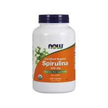 Spiruline biologique certifiée, 500 mg, super aliment riche en nutriments, sans o 500, comprimés, livraison gratuite