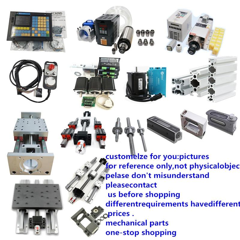 HGR20 Linear Guide  SFU1605 BallScrew Nema 23 Motor /nema 34 Closed Loop Motor For 3d Printer Parts XYZ Robotic Arm Kit