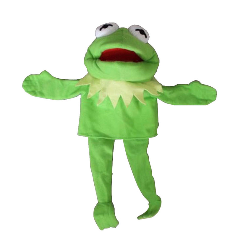Sesame Street The Muppet Show Kermit Frog Puppets Plush Toy Doll Stuffed Toys A Birthday Present For Your Child #30D12 (4)