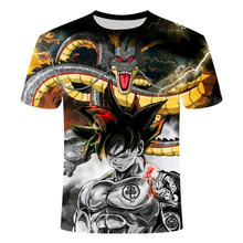 2021 Summer New Men's and Women's T-shirt 3d Printing Wukong Children's Cartoon Animation Casual Cool Top