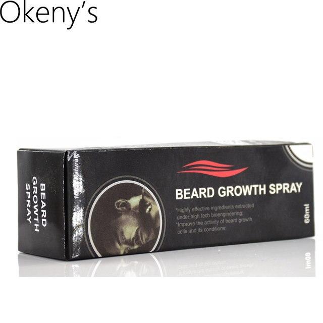 Hair Loss Original Beard Growth Spray 60ml Beard Grow Stimulator 100% Natural Accelerate Beard Growth Oil Facial Hair Grower 2